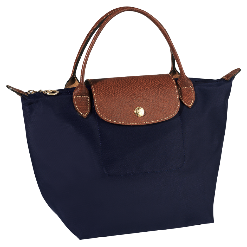 longchamp le pliage handbag handtas s navy de groen bv. Black Bedroom Furniture Sets. Home Design Ideas