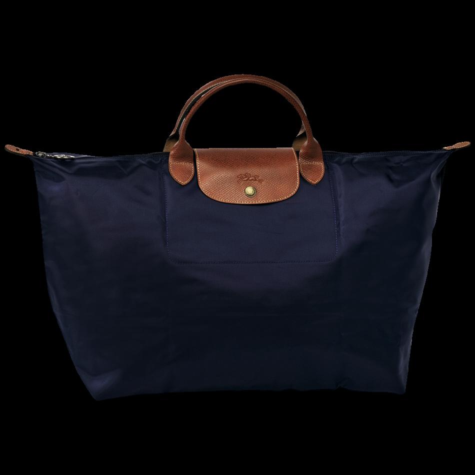 longchamp le pliage travelbag reistas navy blue de groen bv. Black Bedroom Furniture Sets. Home Design Ideas