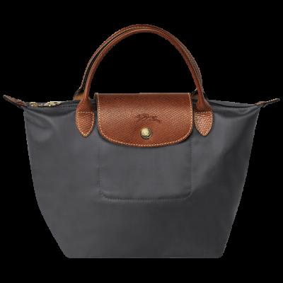 f103e37da90 Longchamp Le Pliage Handbag/Handtas S Gunmetal