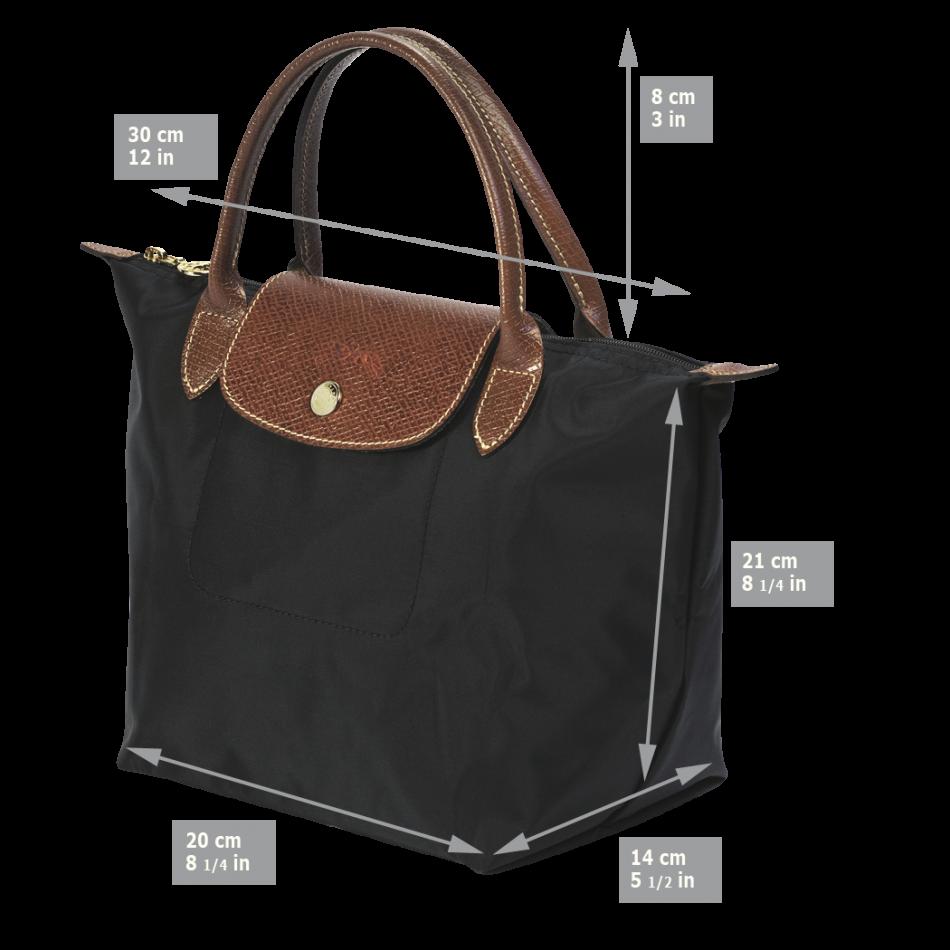 Sac Longchamp Noir Le Pliage : Longchamp le pliage handbag handtas s khaki de groen bv