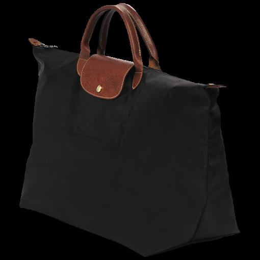 fa215e1886a Longchamp Le Pliage Travelbag/reistas L Black - De Groen BV