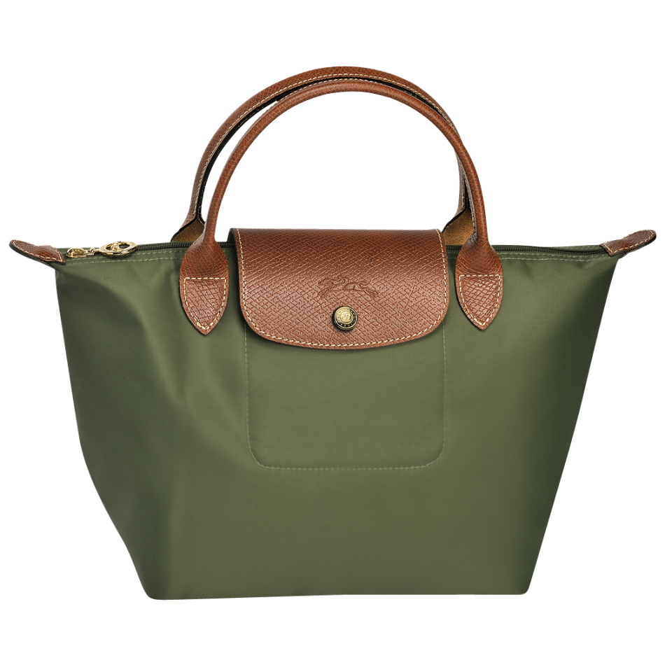 longchamp le pliage handbag handtas s khaki de groen bv. Black Bedroom Furniture Sets. Home Design Ideas