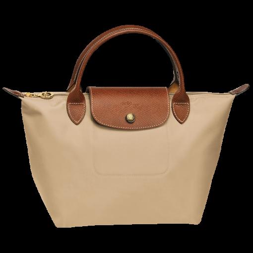 longchamp le pliage handbag handtas s beige de groen bv. Black Bedroom Furniture Sets. Home Design Ideas
