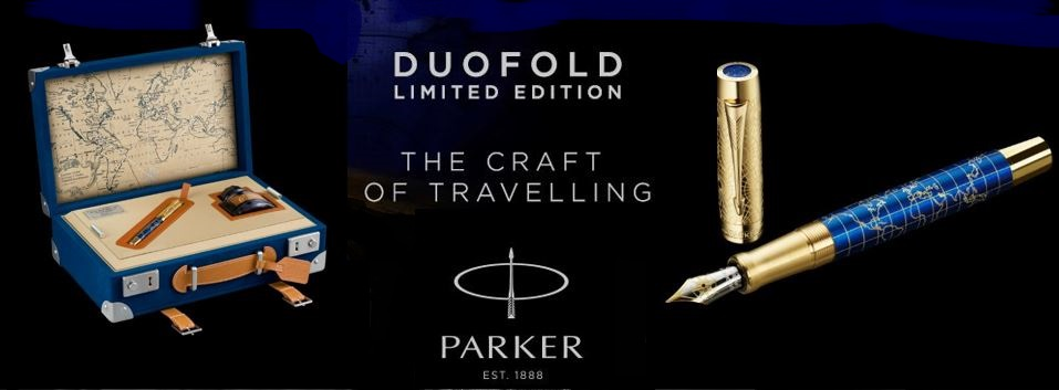 Parker Duofold LE Craft of Travelling