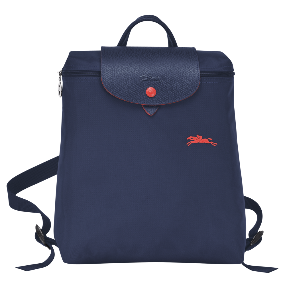 longchamp le pliage club backpack rugzak navy de groen bv. Black Bedroom Furniture Sets. Home Design Ideas