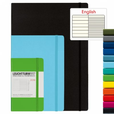 Leuchtturm1917 Weekly Planner + Notitieruimte A6 Pocket Hardcover