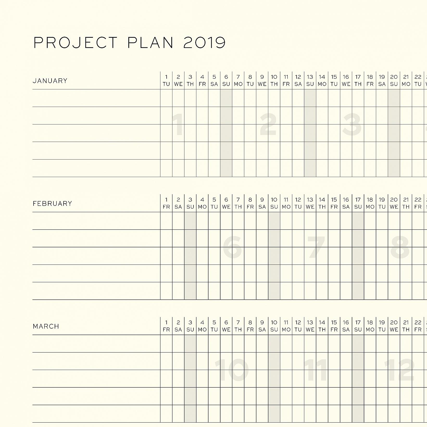 leuchtturm 1917 a6 pocket weekplanner notebook 2019. Black Bedroom Furniture Sets. Home Design Ideas
