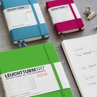 Leuchtturm1917 Weekly Planner A5 Medium Hardcover