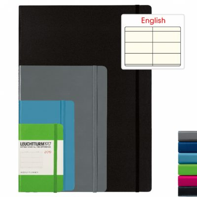 Leuchtturm1917 Weekly Planner A6 Pocket Hardcover