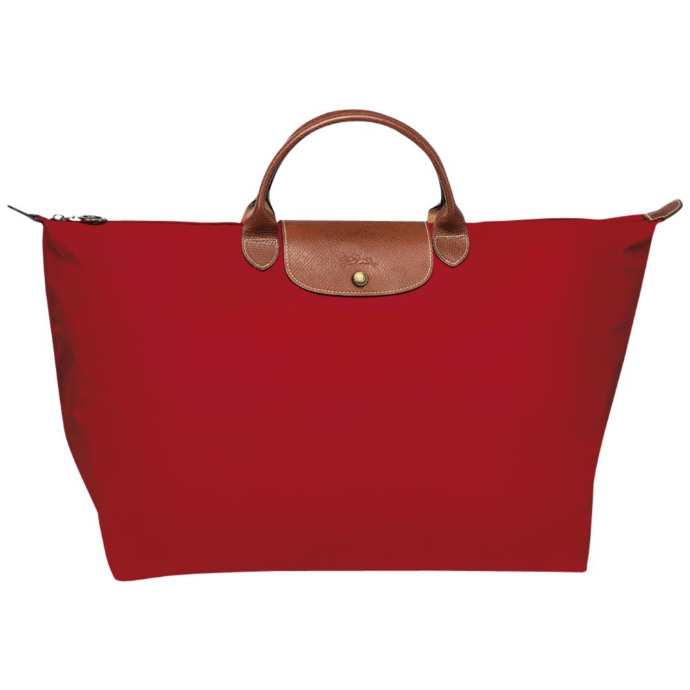 e1e8354e9d5 Longchamp Le Pliage Travelbag/reistas L Red - De Groen BV