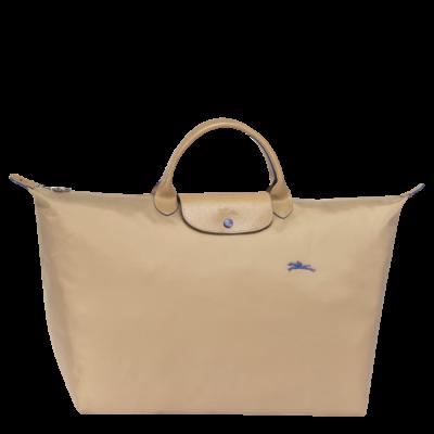c1659ecd45b Longchamp Le Pliage Club Travelbag/reistas L Beige