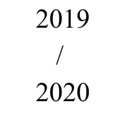 2019 / 2020