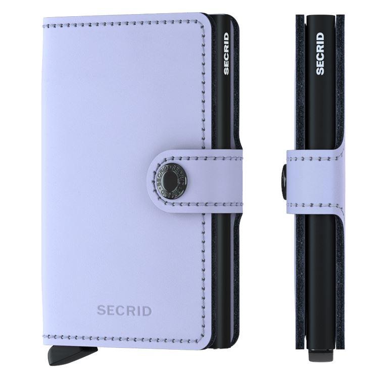 c56ea3c1828 Secrid Miniwallet Matte Lilac / Black - De Groen BV