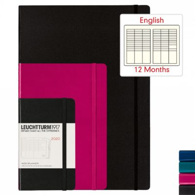 Leuchtturm1917 A5 Medium Week Planner Hardcover
