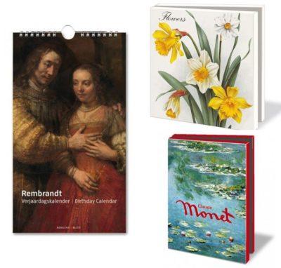 Bekking&Blitz Verjaardagskalenders en Museumkaartjes