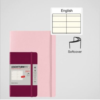 Leuchtturm1917 A5 Medium Weekly Planner Softcover