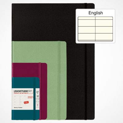 Leuchtturm1917 A6 Weekly Planner Pocket Hardcover